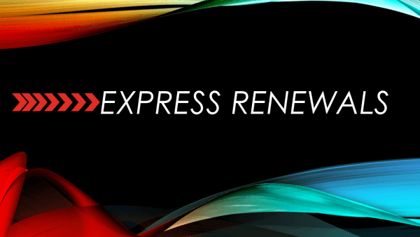 Express renewal Courses
