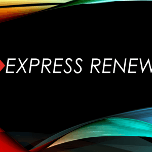 Express Renewal Sessions